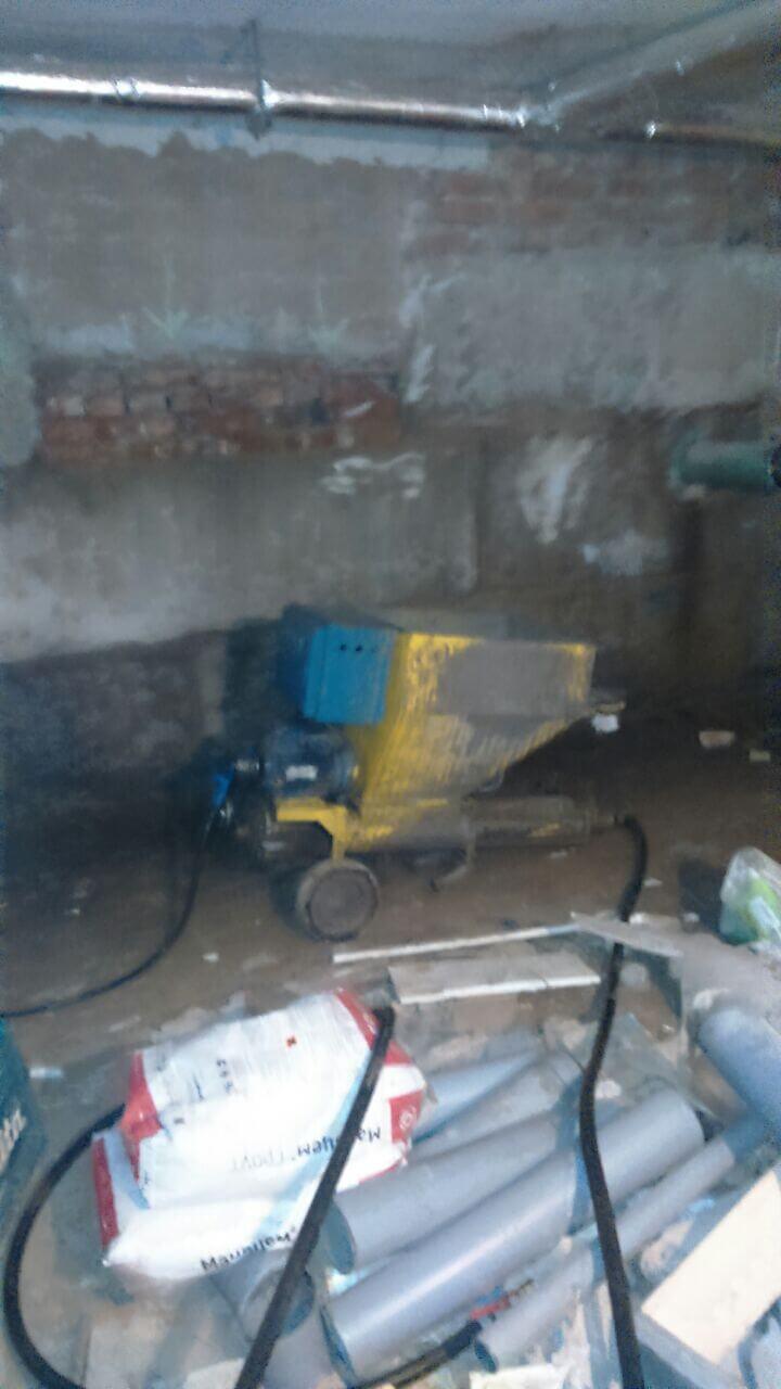 Рис 10 Рабочий процесс инъецирование трещин на строительным объекте